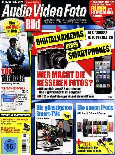 Audio-Video-Fotobild AVF-Bild, Zeitschrift mit Spielfilm-DVD Jahresabo effektiv 10,40 €