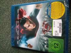 Man of Steel BluRay für 10 Euro