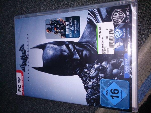 Batman Arkham Origins PC für 29 Euro
