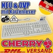 Cherry USB Tastatur mit Chipkartenleser (HBCI), deutsches Layout