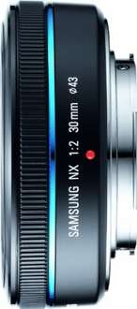 Objektiv: Samsung NX Pancake 20mm F2,8  130€ statt 178€ UPDATE: 30mm F2 Pancake für 169€ statt 199 €   @ Amazon