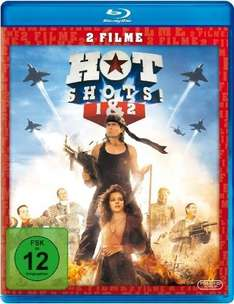 Hot Shots 1+2 (Blu-Ray) für 11,97€