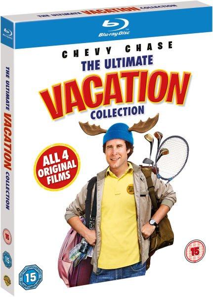 Die ultimative Griswold Collection [4 Blu-rays] @ zavvi für 10,50€