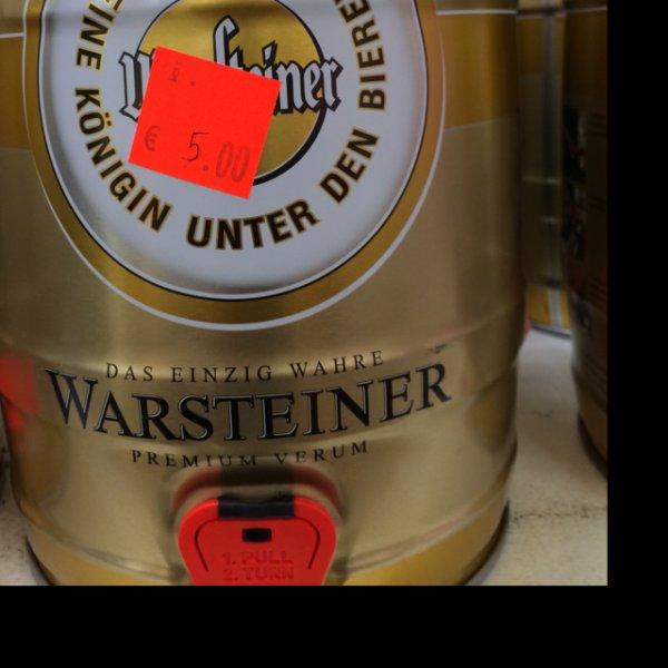 (Rewe Center Bonn) Warsteiner Pils 5l Fass
