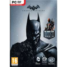Batman Arkham Origins + Deathstroke DLC Steam Key