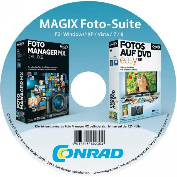 MAGIX Foto-Suite für XP/Vista/7/8 gratis @Conrad HAMBURG