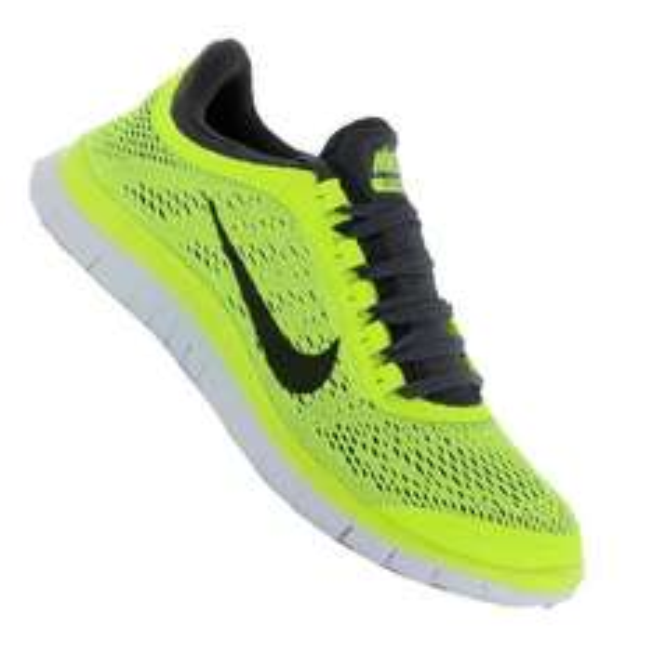 Nike Free 3.0 V5 Running Gelb Schwarz F701