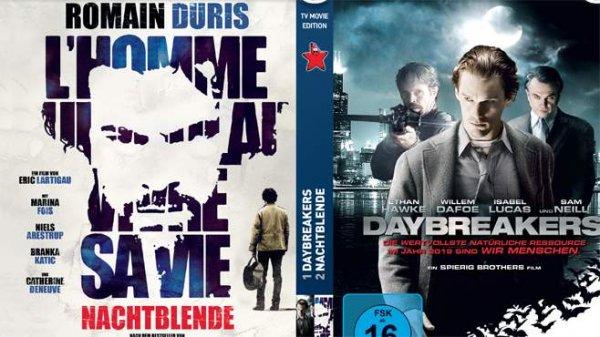 TV Movie mit Blu-Ray Daybreakers und Nachtblende