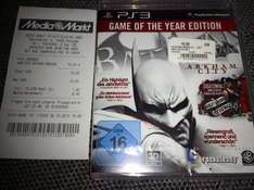 [Lokal Potsdam] Batman Arkham City - Game of the Year Edition (PS3) für 10€