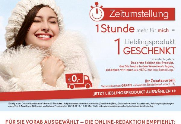 Yves Rocher WHITE NIGHT bis 28.10. - 1. Produkt im Warenkorb kostenlos!