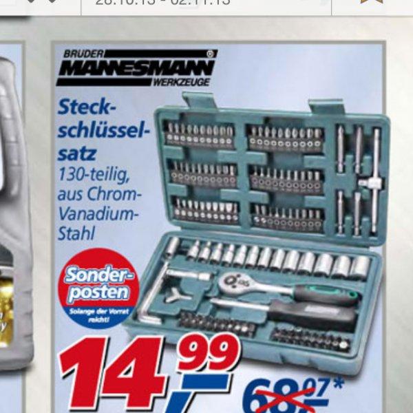 Real 130teilig Steckschlüsselsatz / ratschenkasten