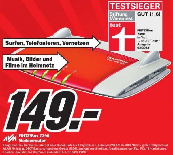[Lokal MM Reutlingen] AVM FRITZ!Box 7390 für 149€
