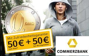 Noch 4 Tage - Commerzbank Girokonto - 150 Euro (wenn man einen Werber hat) + 11.000 Meilen