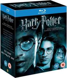 "Blu-ray Box - Harry Potter ""The Complete Collection (1-7.2)"" (11 Discs) für €29,24 [@Zavvi.com]"