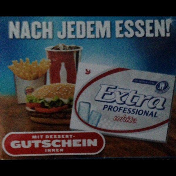 Burger King gratis Kaugummis + Gutschein