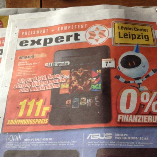 Amazon Kindle Fire 8 GB / Lokal im Expert Leipzig Burghausen