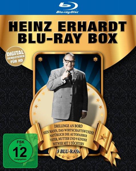 Heinz Erhardt Blu-ray Box (5 Blu-rays) für 19,99 €