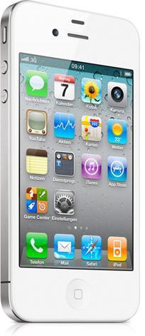 #Lokal  Mobilfunkvertrag: Iphone4 32G Weiss + T-Mobile Flat Smart @ mediamarkt