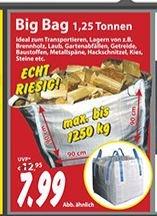 [LOKAL] BIG BAG bis 1,25t, Sonderpreisbaumarkt