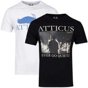4x Atticus T-Shirt für 18,75€ [Zaavi, alle Größen, alternativ 2x Sweatshirt oder 2x Boxfresh Polo]
