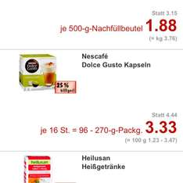 [lokal?] Siegburg Dolce Gusto 3.33€