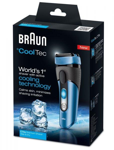 """Braun™ - Akku-Rasierer """"CoolTec CT4s"""" für €99,90 [@ZackZack.de]"""