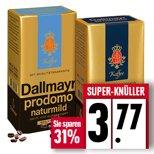 Dallmayr prodomo Bohnenkaffee versch. Sorten bei EDEKA