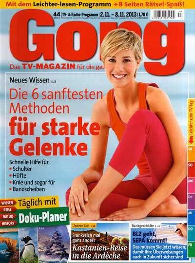 Gong Jahresabonnement für -1€
