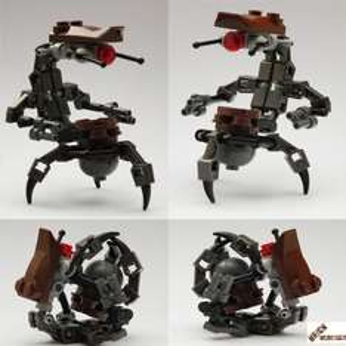 LEGO® STAR WARS™ Figur Droideka aus 7877 incl. Bauanleitung 31-teilig für 4,99 EUR inkl. Versand