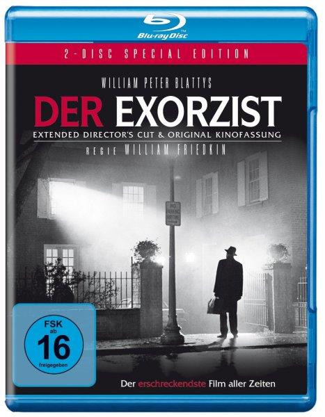 Der Exorzist (Kinofassung + Director's Cut) auf 2 Blu-rays für 8,97 EUR inkl. Versand [Blu-ray]