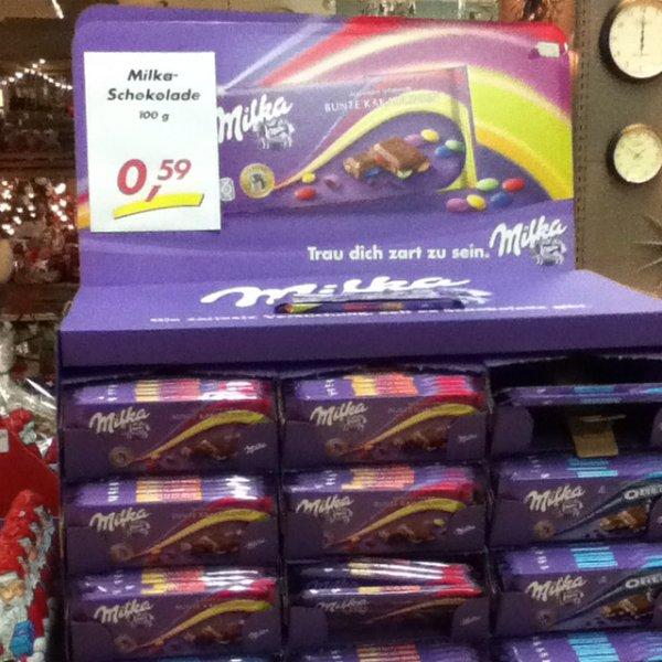 [Zimmermann Express] Milka Schokolade 100g für 0,59€