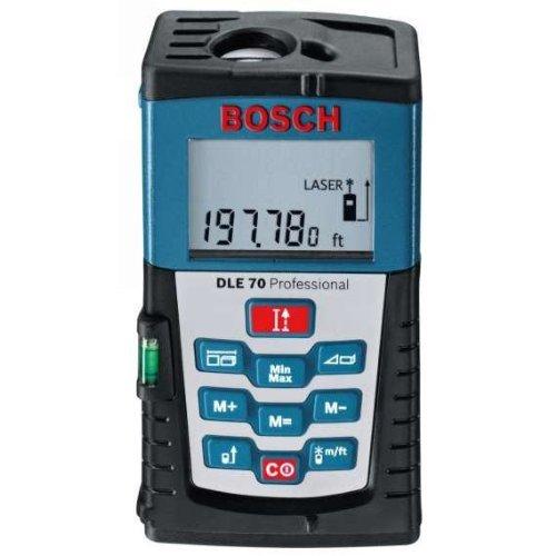 Bosch Entfernungsmesser DLE 70 inkl. Vsk für 84,45 € @ ZACKZACK.de
