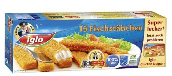 Iglo MSC Fischstäbchen @ EDEKA [Bundesweit?]