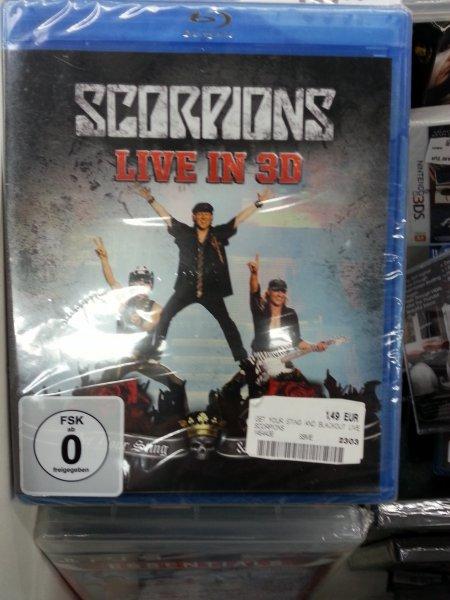 [Lokal] Blu Ray Scorpions Live in 3D Media Markt Lüneburg
