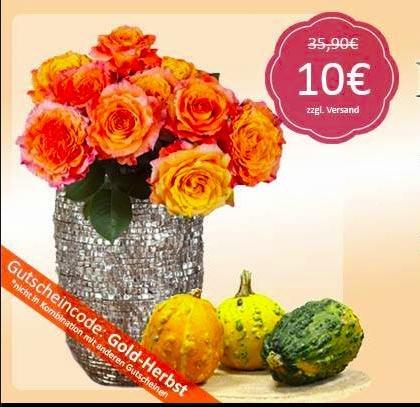 MIFLORA: 10 XXL Rosen für nur 10€ (statt 35,90€)