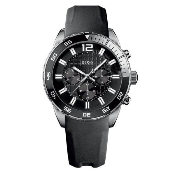 Hugo Boss Herren-Armbanduhr XL Chronograph Quarz Silikon 1512804