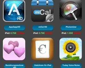 48 deutsche iPad-Apps dieses Wochenende günstiger (bis zu 85€ Ersparnis)