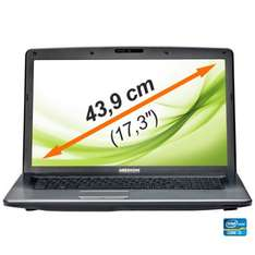 "[Ebay-Medion] MEDION P7818 MD 99160 Notebook 17"" LED 17,3""/43,9cm i3 2,4GHz 1000GB 8GB Windows 8 - für 399€ VSKfrei"
