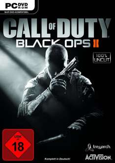 Call of Duty: Black Ops 2 (100% Uncut) @ Amazon.de (inkl. 5 EUR Versand)