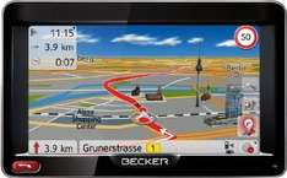 "[Amazon Blitzangebot ab 18Uhr] Becker Ready 50 LMU Plus Navigationsgerät, 5"" (12,7 cm) Display, 47 Länder Europas inkl. Türkei & Russland, Lebenslange Kartenupdates"