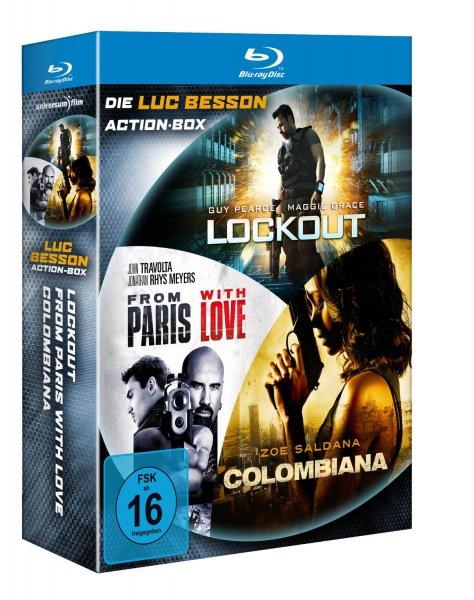 Luc Besson Action Blu-ray Box  für 17,99 € @ amazon.de