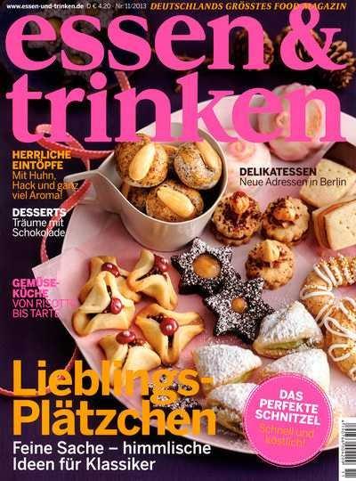"""1 Jahr Zeitschrift """"Essen und Trinken"""" für 30,60€"""
