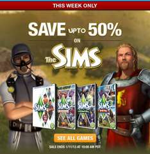 Sims 3 oder Addon´s 50% Reduziert