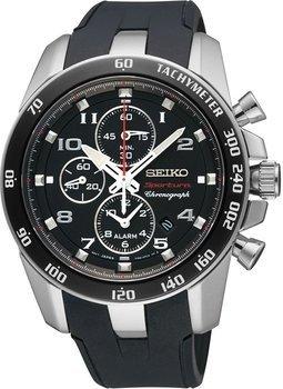 Seiko Herren-Armbanduhr XL Sportura Alarm Chronograph