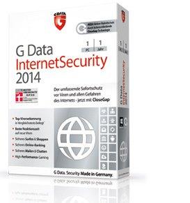 GDATA Internet Security 2014 für 5,95 bei Mindestbestellwert von 15,-