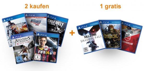 1 PS4 Spiel kaufen und ein weiteres umsonst (nur für ps4 Vorbesteller bei Amazon!)