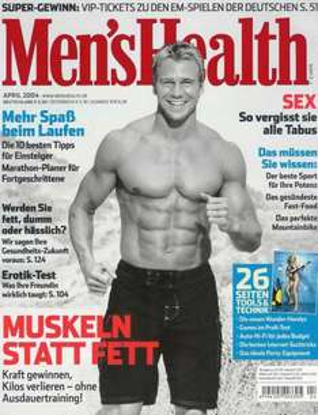 5 x Men's Health + 10€ Media Markt Gutschein (Kündigung erforderlich)