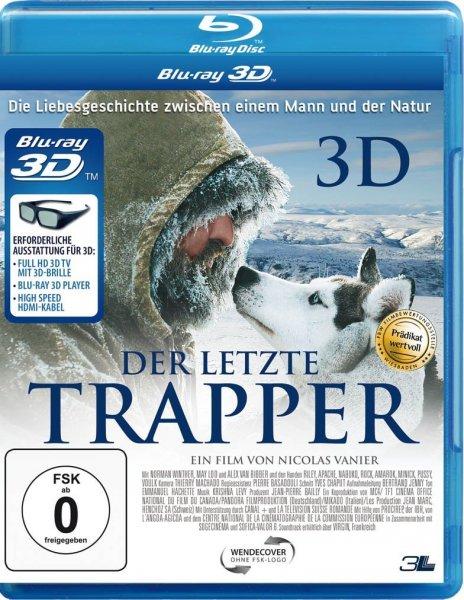 Der letzte Trapper für nur 8,97 EUR inkl. Versand [3D Blu-ray]