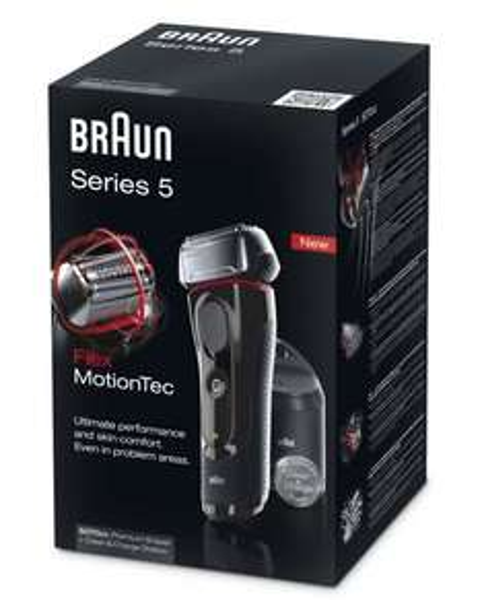 """Braun™ - Akku-/Netzrasierer """"Series 5 5070cc"""" (inkl.Reinigungsstation) für €125,80 [@Amazon.de]"""