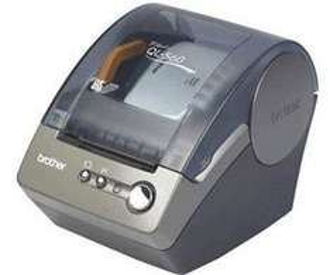 Brother QL-560 Etikettendrucker mit Automatikschnitt statt 48,80 zu 40,44 € - fast 20% sparen